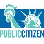 Public Citizen logo - green and blue square